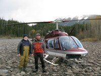 Heli Fishing northern British Columbia based out of Terrace and Prince Rupert