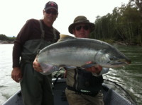 Need a fishing to to catch fish like this? Contact Noel Gyger by phone: 250-635-2568 or e-mail: noel@noelgyger.ca
