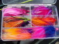 Steelhead flies tied by Jeff Bright