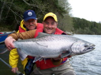 Kalum Skeena River Chinook King Salmon