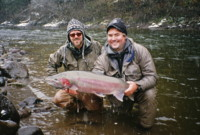Spey Fly Fishing Fall Steelhead
