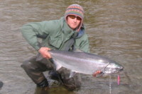 Sky Richards Fly Fishing Chinook (King) Salmon
