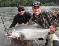 Kitimat River Chinook King Salmon