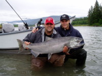 Rob Vodola Rod Pelley Chinook Salmon