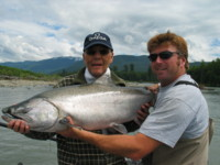 Frank Aldo Kitimat River Chinook Salmon