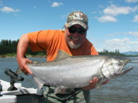 Mike Holland Kitimat Chinook King Salmon